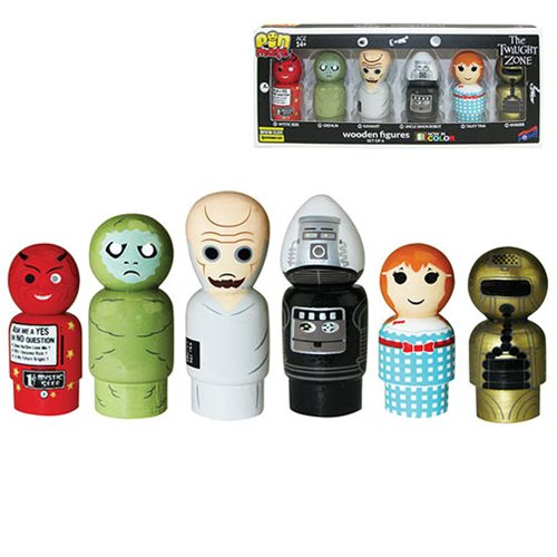 The Twilight Zone Pin Mate Set of 6 - Convention Exclusive
