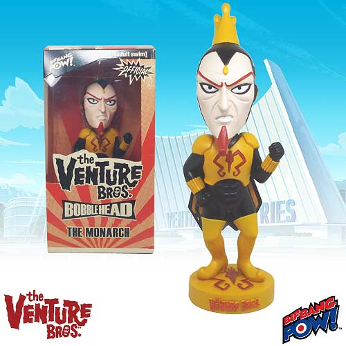 Up to 65% Off The Venture Bros. Bobble Heads