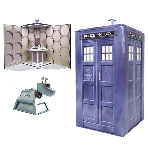 TARDIS Set on Sale 'til Midnight!