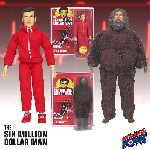 Daily Deal - Six Million Dollar Man Figures
