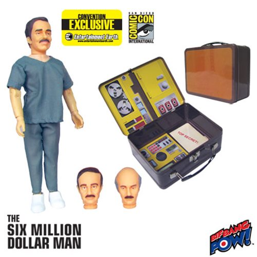 Daily Deal on The Six Million Dollar Man Exclusive Tin Tote