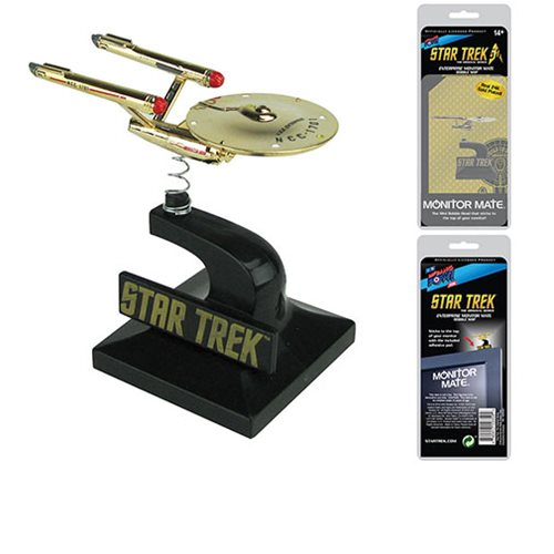 Star Trek: TOS 24K Enterprise Monitor Mate - Conv. Excl.