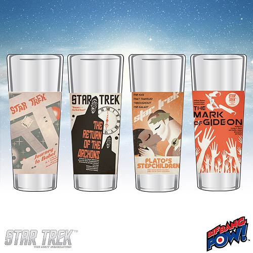 New Star Trek Retro Glassware - Collect Them All!