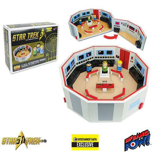 Boldly Gift the Star Trek Pin Mate(TM) Playset!