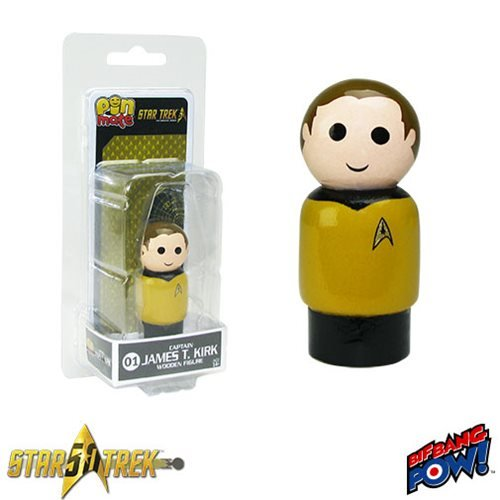 Star Trek: The Original Series Captain James T Kirk Pin Mate