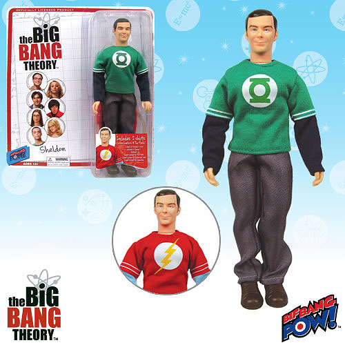 New Big Bang Theory Figures Have 2 Shirts