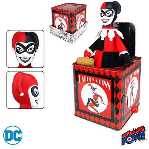 Harley Quinn - The Perfect Jack-in-the-Box