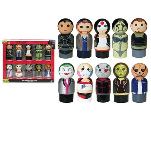 Instant Suicide Squad Pin Mate(TM) Figure Collection