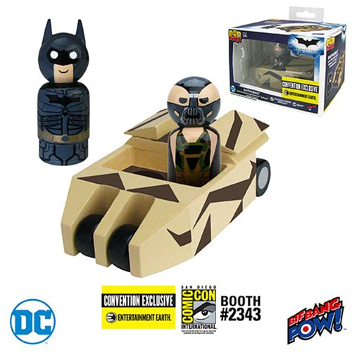 The Batmobile with Batman - Comic-Con Exclusive!