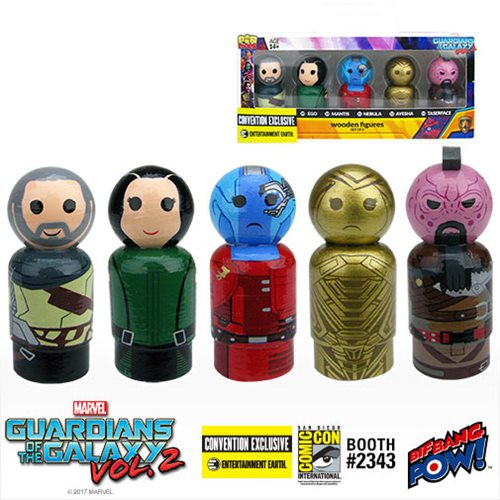 Retro Wood Guardians of the Galaxy - Convention Exclusive!
