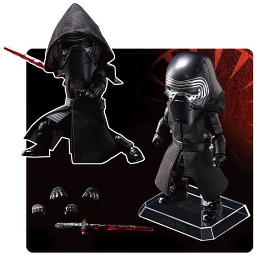 Kylo Ren Commands Attention as Egg Attack Figure