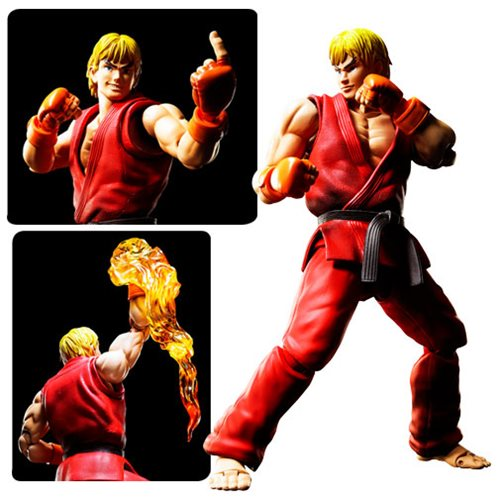 Super-Detailed Street Fighter Ken Figure!