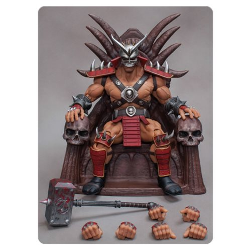 Prepare for Kombat with Shao Kahn