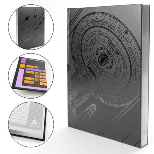 Picard's Enterprise: A Classy Star Trek Journal