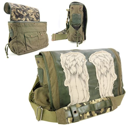 Awesome Walking Dead Daryl Dixon Messenger Bag