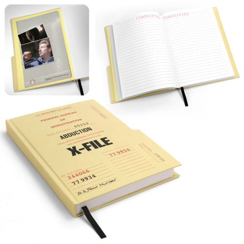Keep Track of Your Own X-Files in Mulder's Abduction Journal