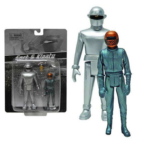 Day The Earth Stood Still Gort and Klaatu Figure 2-Pack
