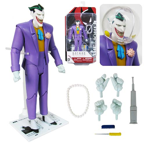New 1990s Batman Animated Joker Action Figure
