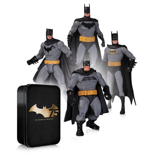 4 Batman Action Figures Are Better than 1!
