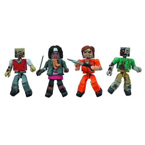 Catch a Horde of Walking Dead Minimates!
