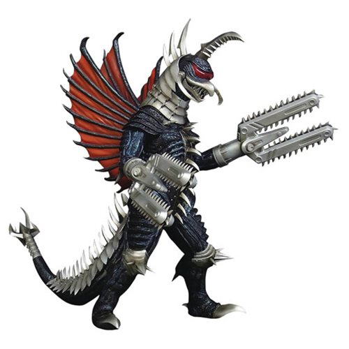 Gigan's 2004 Heavy Metal Kaiju Makeover