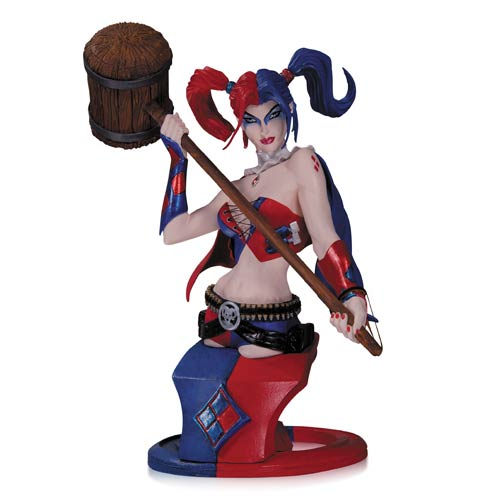 Get Your Limited Edition Harley Quinn Bust