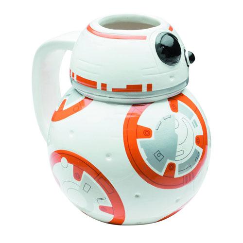 Star Wars: The Force Awakens BB-8 Molded Ceramic Mug