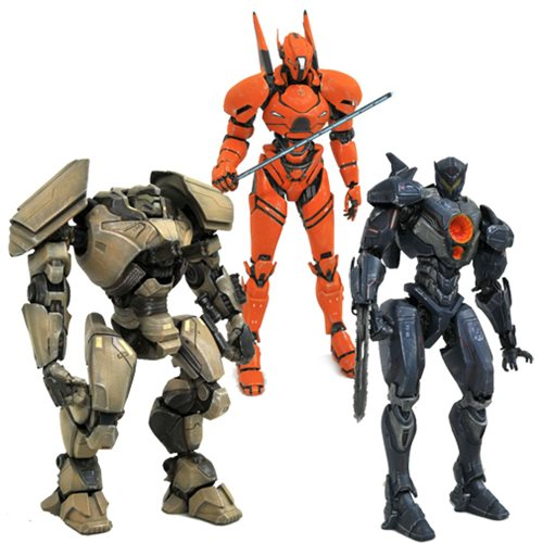 Pacific Rim 2 Select Series 1 Action Figure Set