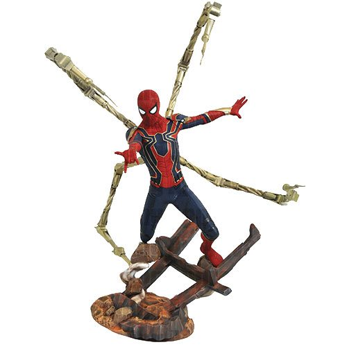 Get Your Iron Spider-Man Infinity War Statue