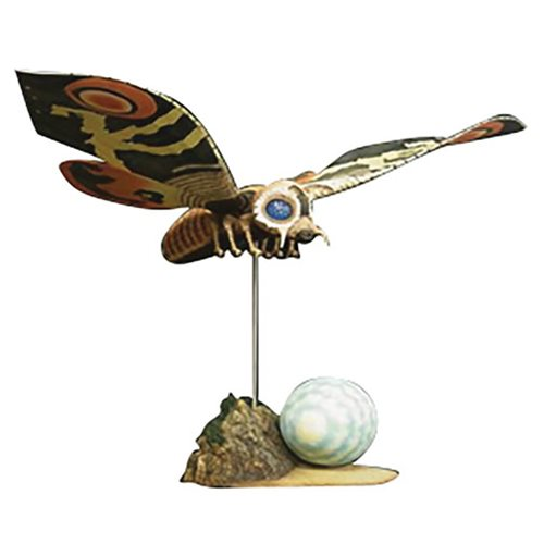Mothra's Coming Back in Classic Sofubi Style