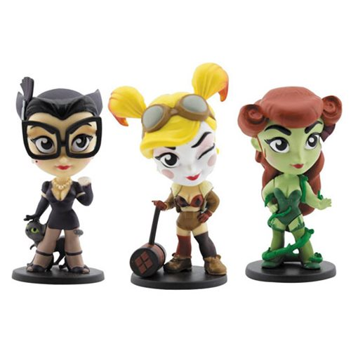 Irresistible Bombshells - Harley, Catwoman, and Ivy!