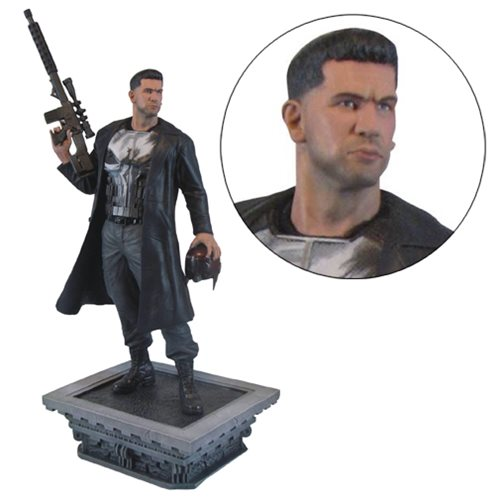 Netflix's Take on Punisher Now a Marvel Gallery Statue