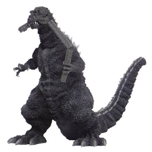 Godzilla Loves (to Eat) Mass Transit