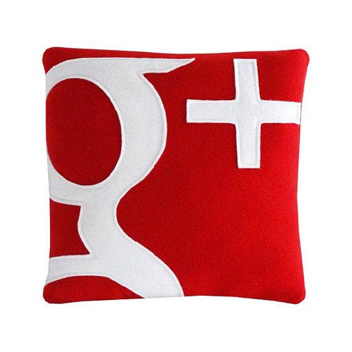 Get a +1 for Your Nap - New Google+ Pillow
