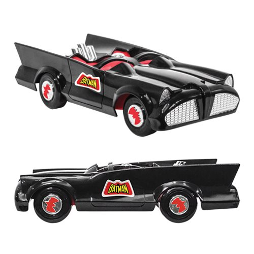 Retro Batmobile Vehicle for Mego 8-Inch Action Figures