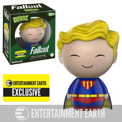 Fallout Vault Boy Toughness Dorbz Vinyl Figure, Not Mint