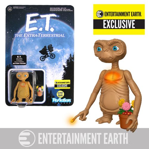 E.T. GITD Finger and Chest ReAction Figure - EE Exclusive