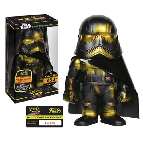 Star Wars Alloy Captain Phasma Hikari Sofubi Vinyl Figure