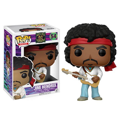 Woodstock + Pop! Vinyl = New Jimi Hendrix