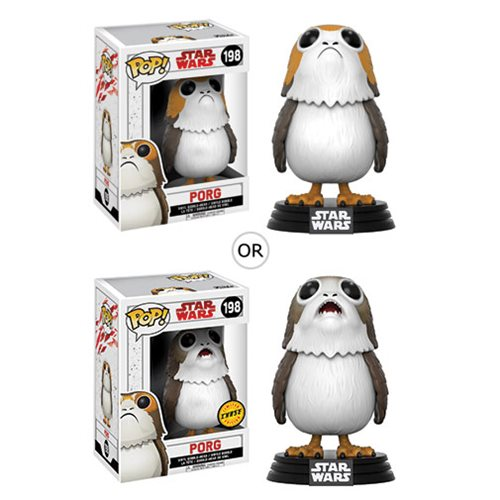 Porgs Are a Wookiee's Best Friend...