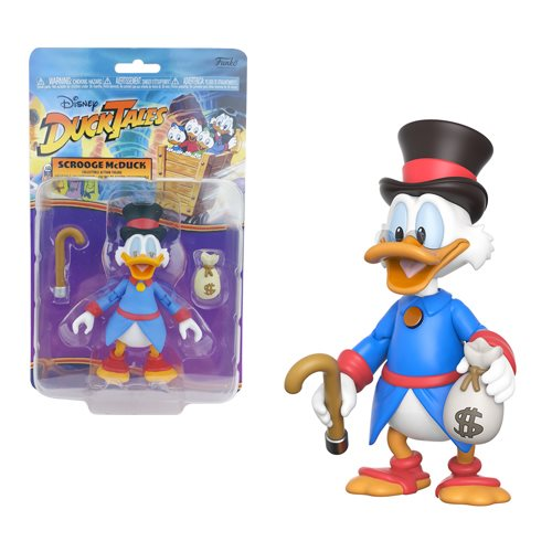 An Uncle Scrooge Action Figure? Dreams Do Come True!