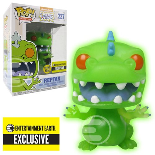 Exclusive Rugrats Pop! Vinyl Reptar - Here to Glow