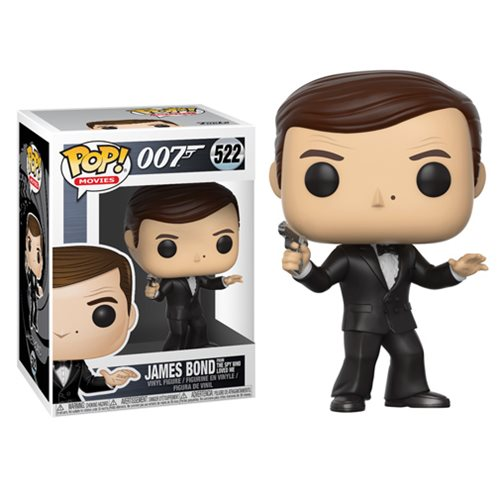 James Bond Will Return in Pop! Vinyls Are Forever