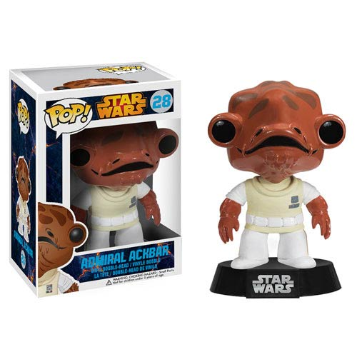 It's a Pop! New Admiral Ackbar Vinyl Bobble Head