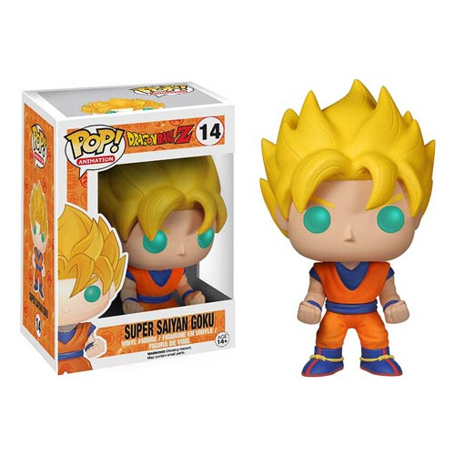 Dragon Ball Z Comes to Pop! Vinyl