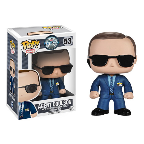 Agent Coulson Gets the Pop! Vinyl Treatment!