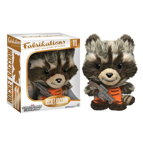 Rocket Raccoon as a Fabric Figure