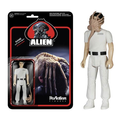 Alien Kane with Facehugger ReAction 3 3/4-Inch Figure