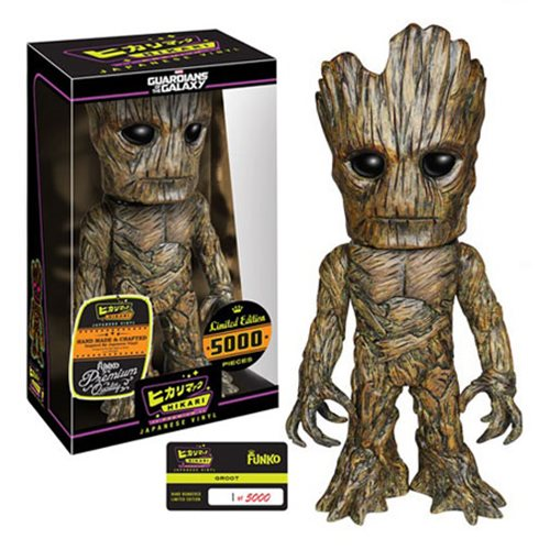 Guardians of the Galaxy Groot Hikari Sofubi Vinyl Figure