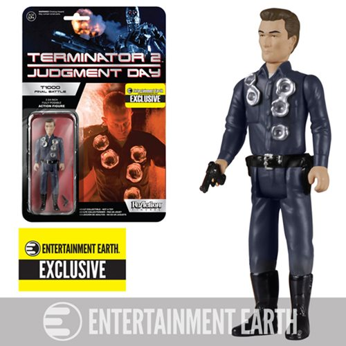 Terminator 2 T-1000 Final Battle ReAction Figure - EE Ex.